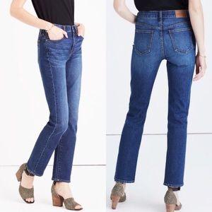 Madewell cruiser straight jeans lara wash 29